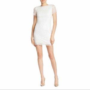 Laundry By Shelli Segal White Lace Sheath Dress